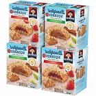 Quaker Breakfast Squares Soft Baked Bars Variety Pack