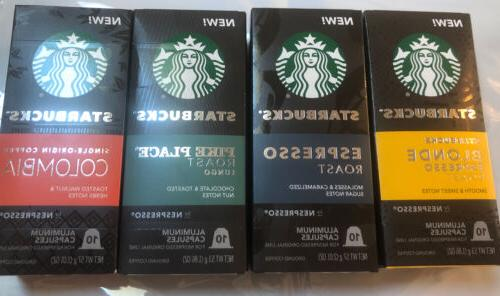 by nespresso favorites variety pack 40 single