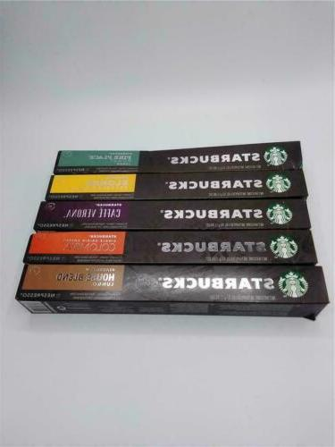 by nespresso intense variety pack 50 count