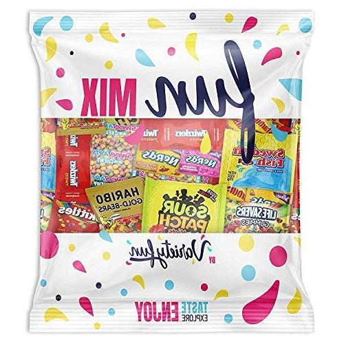 candy party mix bag includes skittles swedish