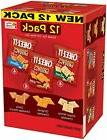 Cheez-It Grooves Crispy Cheese Cracker Chips, Variety Pack,