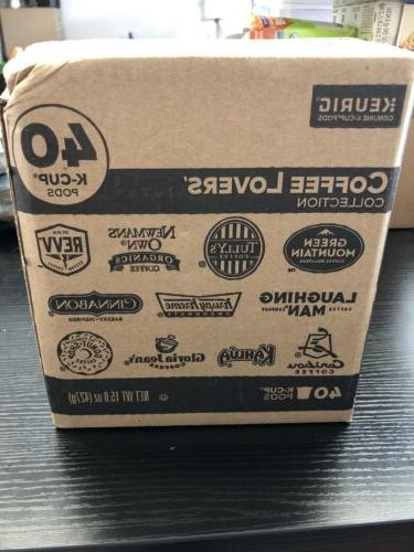 coffee lovers collection variety pack 40 single