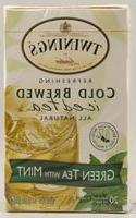 Twinings of London Cold Brew Green Tea with Mint Tea Bags, 2