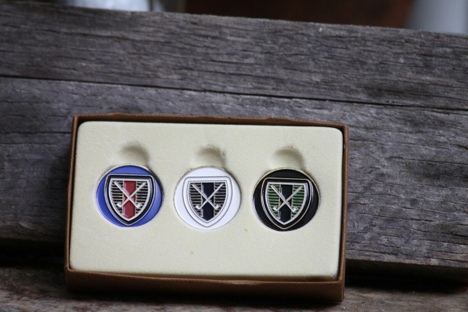 crossed clubs variety 3 pack ball markers