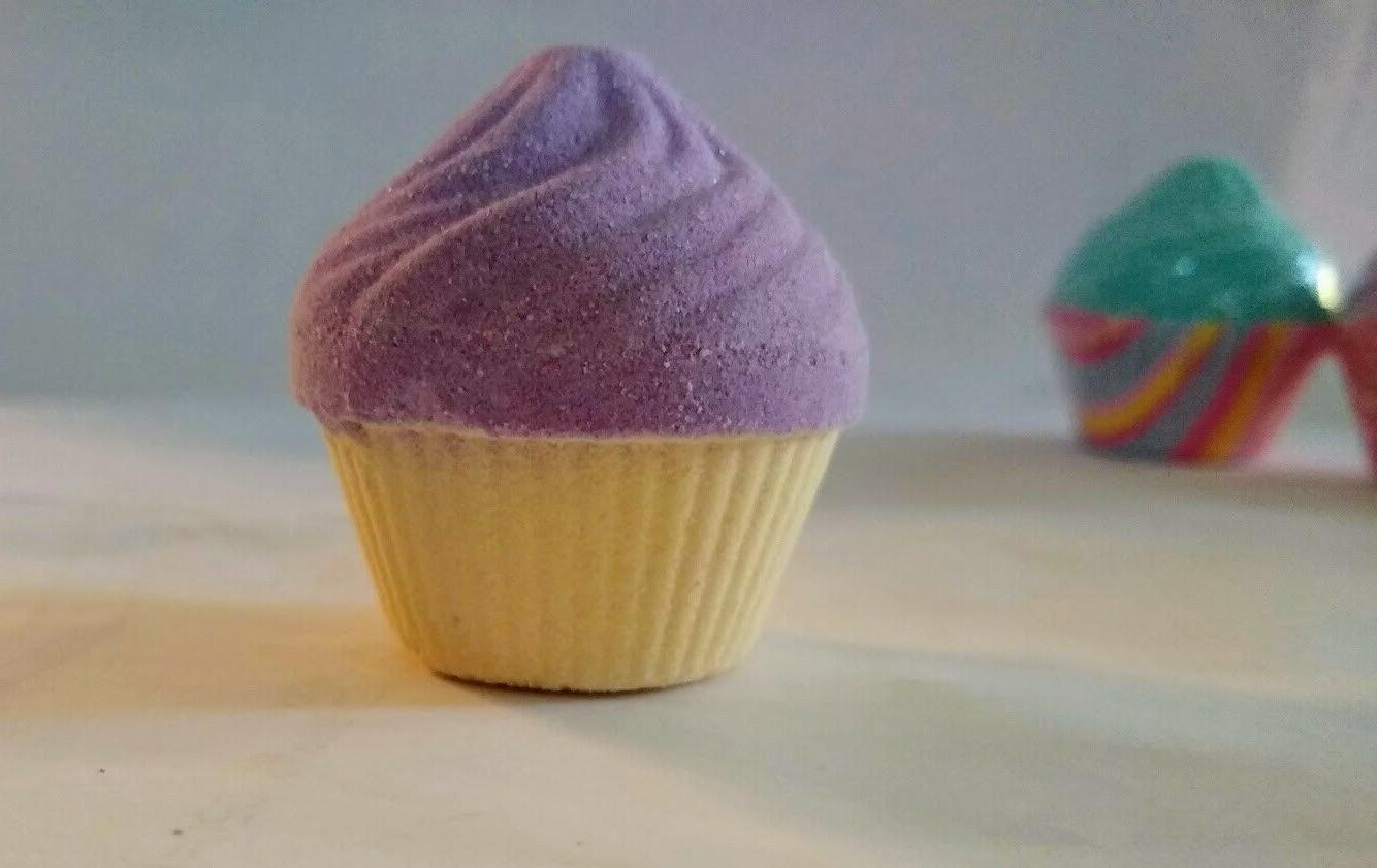 Cupcake Bath Pack Kids Fizzy Fizzies Scented