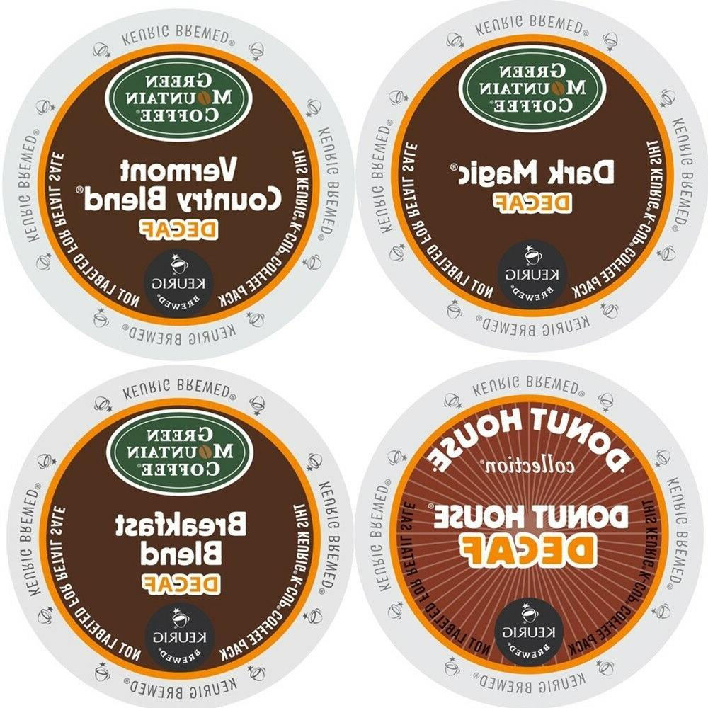 Green Mountain Decaf Variety Pack Coffee 22 to 88 Keurig K c