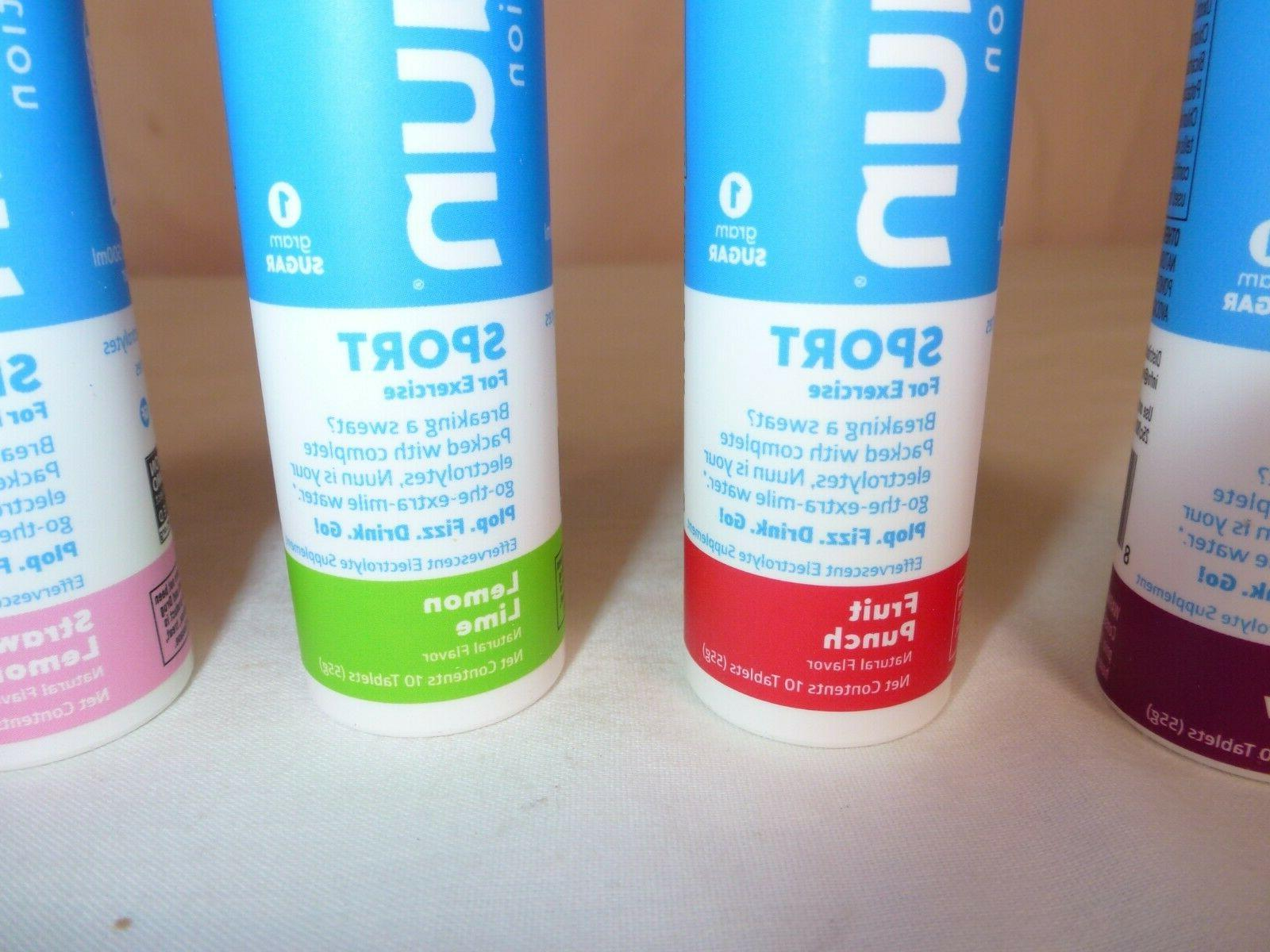 Nuun Electrolyte Sport Hydration Tablets - Exp 10/2021