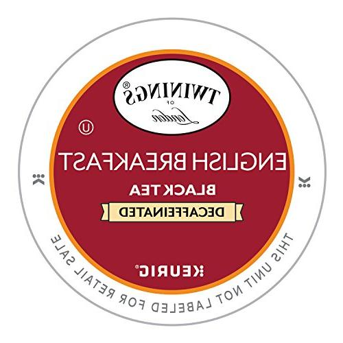 english breakfast decaf tea keurig