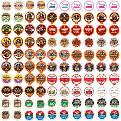 Flavored Coffee Single Serve Cups/K cups Variety Pack Sample