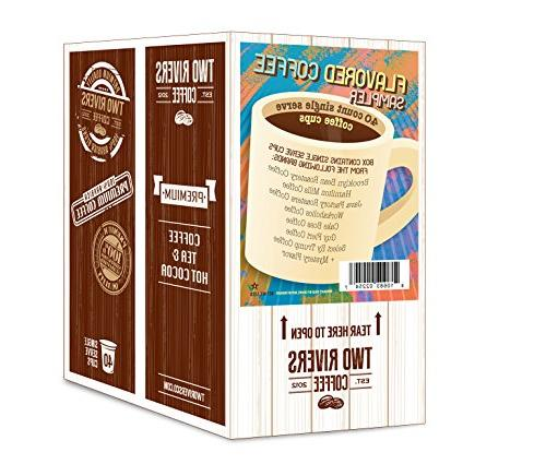 Two Rivers Pack Single-Cup Keurig Brewers, 40 Count