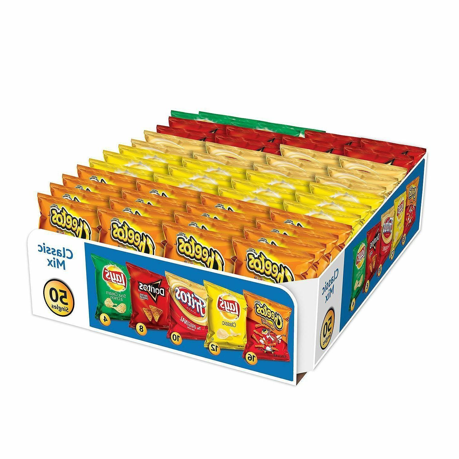 frito lay classic mix chips and snacks