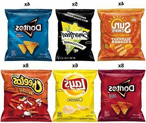 Frito-Lay Mix Variety Pack 35 Count Chips Lay`s Cheetos