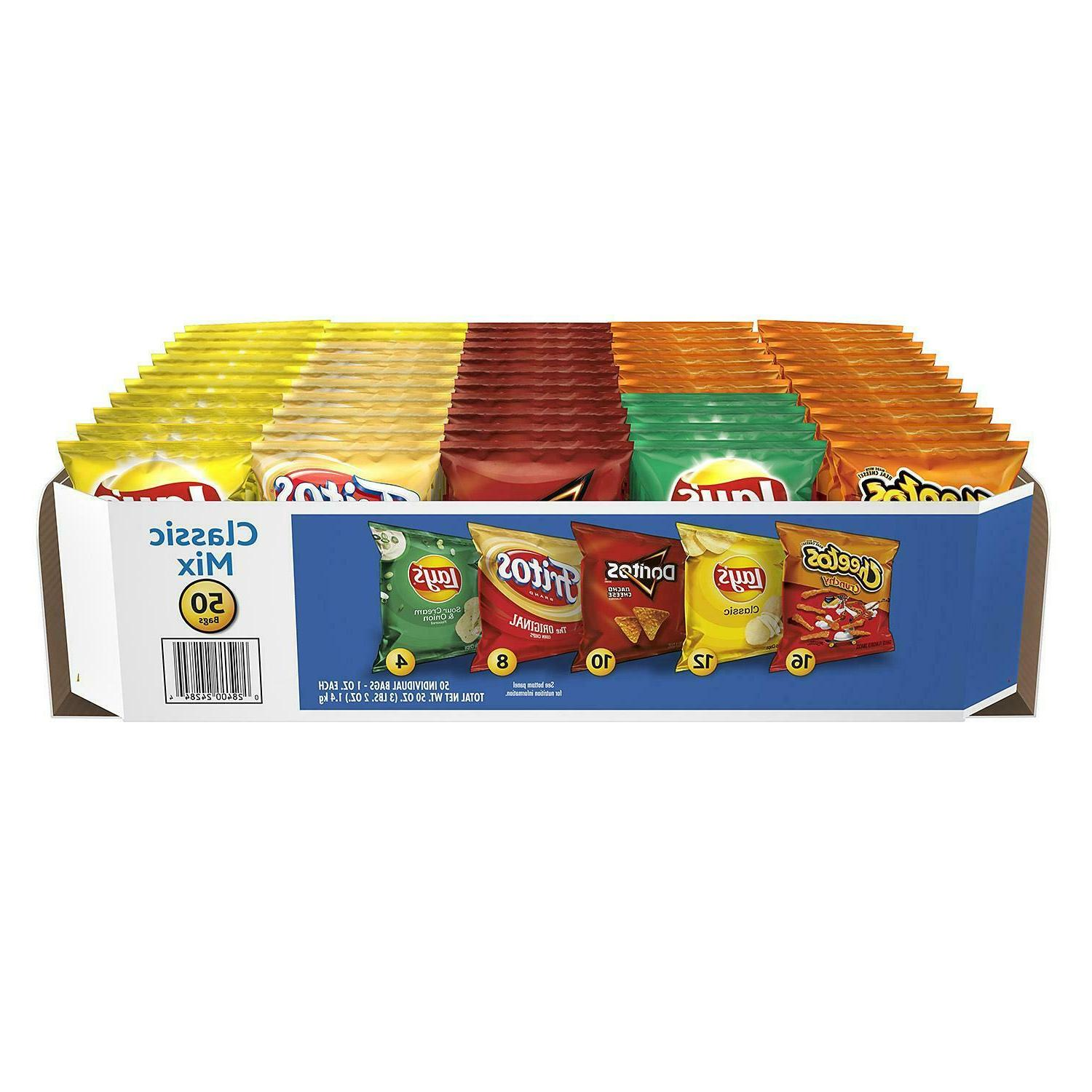 50 Pack Mix Variety, Includes Five Varieties