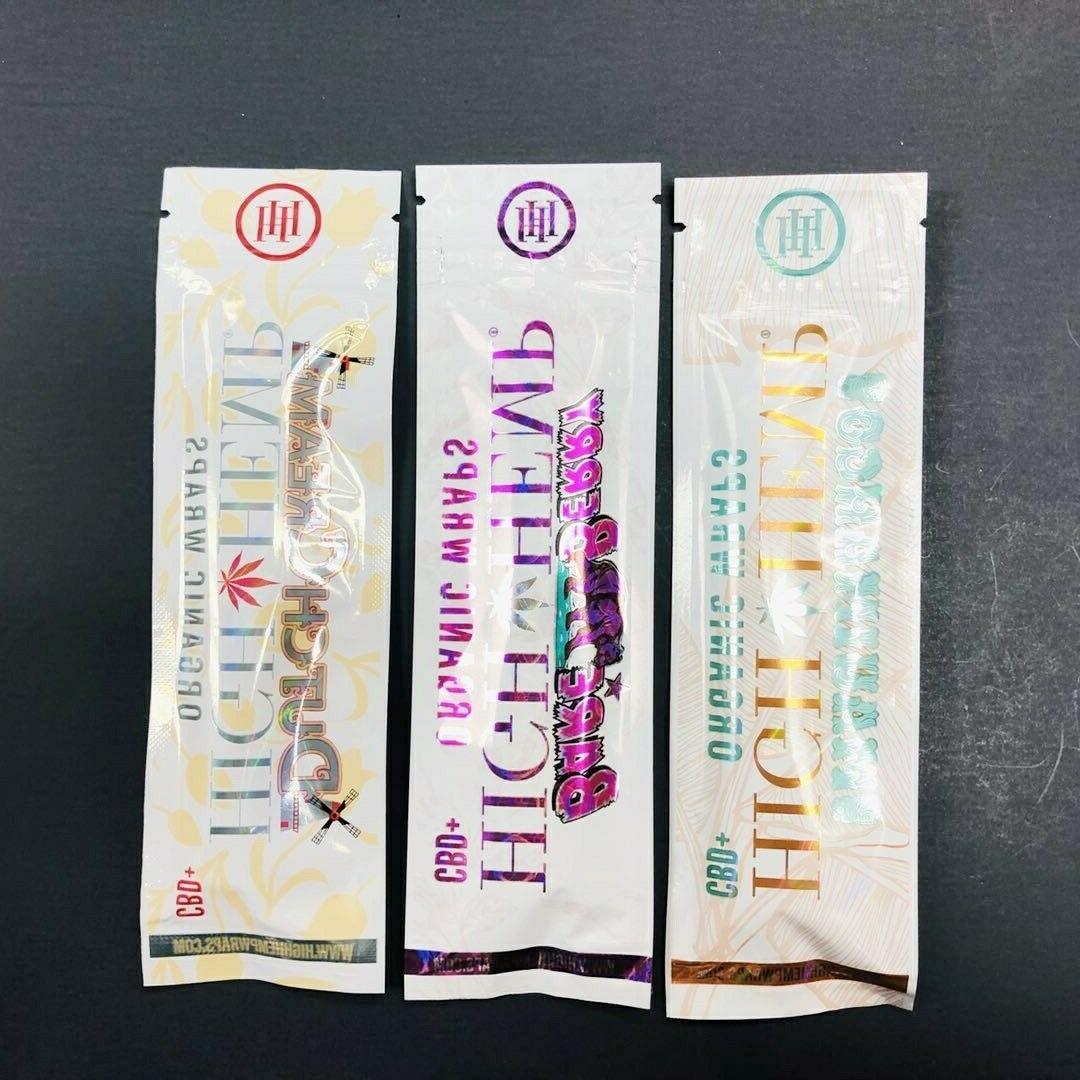 HIGH ORGANIC WRAPS PACK 7 PACKS 14 PAPERS BERRY MANGO