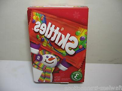 SKITTLES Holiday Gift Box and Game Board 3 full size bags Be