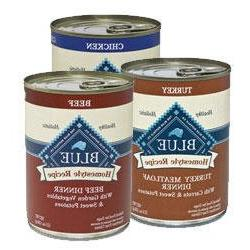 Blue Buffalo Homestyle Canned Variety Pack Dog Food  12pack/