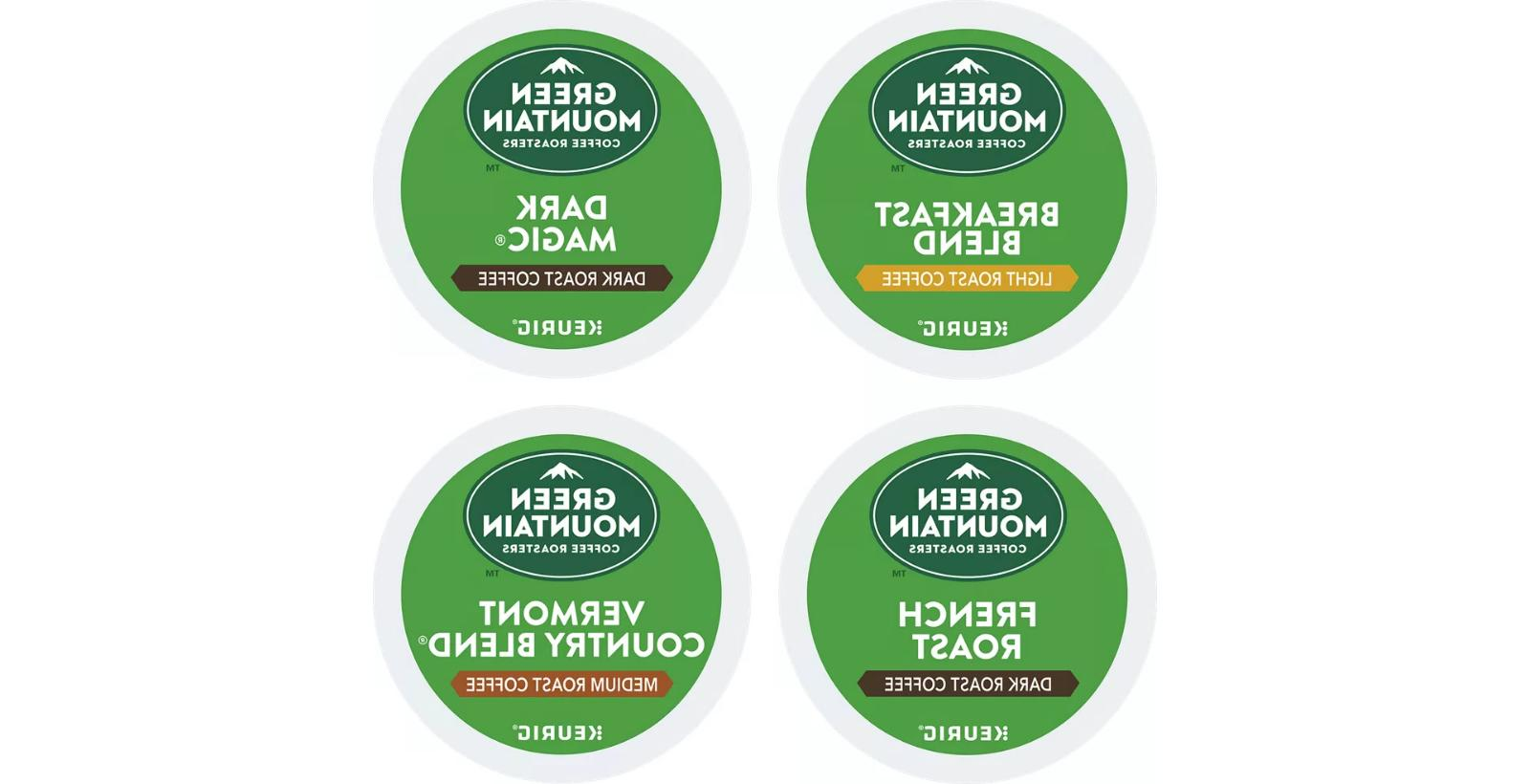 22 Count K-Cup Green Mountain 'FLAVORED VARIETY PACK' - FRES