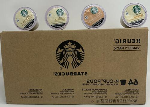 k cup variety pack 64 ct caramel