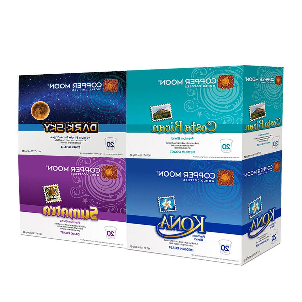 k cups coffee shop variety pack 80