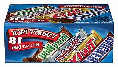 MARS Candy Variety Pack 33.31-Ounce Box