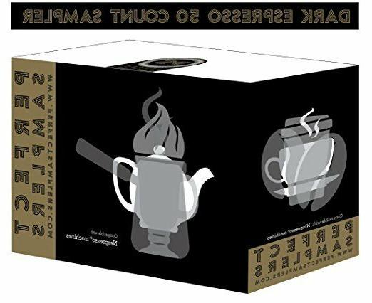 Nespresso Coffee Variety Pack, 5 of 10 count,50 count