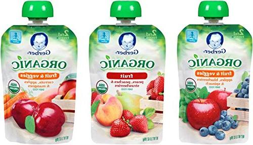 organic 2nd food pouches