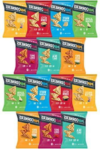 popcorners variety pack sampler 1 ounce by