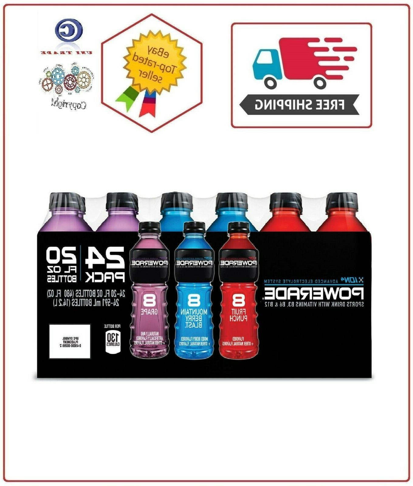 sports drink variety pack 20 fl oz