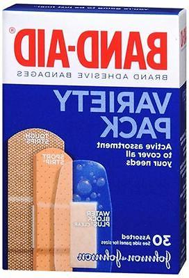 BAND-AID Variety Pack 30 Each