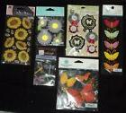 Variety of 16 Spring Things Dimensional Sticker Packs