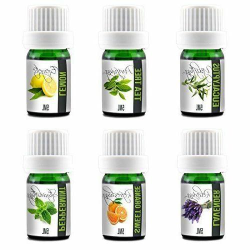 Variety Pack of Essential Oils, 100% Pure Undiluted, Therape