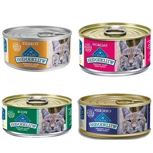 wilderness grain variety canned cat