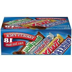 mars chocolate singles size candy bars variety