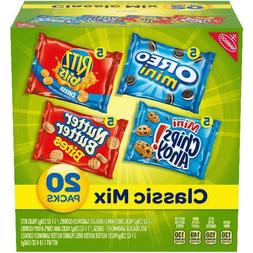 Nabisco Mini Chips Ahoy!, Oreo, & Nutter Butter Variety Pack