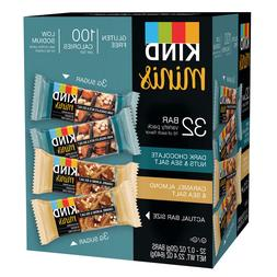 KIND Minis Variety Pack  Gluten Free 100 Calories Per Bar Lo