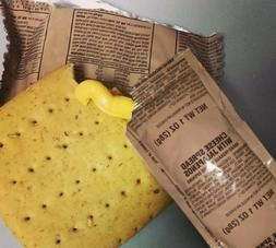 MRE Cheese Spread Variety Packs: Cheddar, Jalapeno or Both.