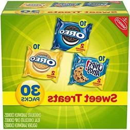 Nabisco Cookies Sweet Treats Variety Pack with Oreo Chips Ah