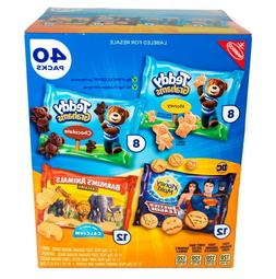 Nabisco Fun Shapes Snack Cookies Variety Pack