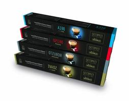 nespresso compatible coffee capsules variety pack 40