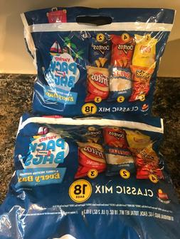 New Lot of Two Frito Lay Potato Chips Variety Pack Classic M