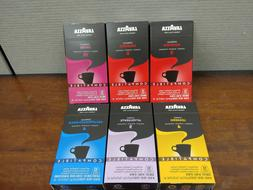 New Nespresso Compatible Lavazza Capsules Variety Pack 60 co