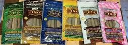KING PALM OME VARIETY PACK NATURAL LEAF WRAPS 6 PACKS 18 ROL