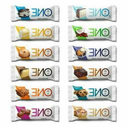🔥 ONE PROTEIN BARS 12 Flavor Variety Pack 20g Protein 1g