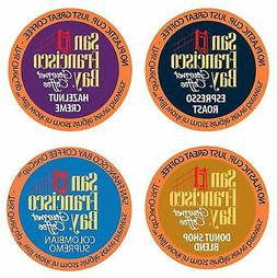 San Francisco Bay OneCup, Single Serve Coffee K-Cup Pods, As