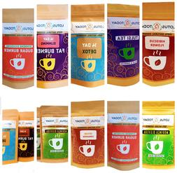 Organic tea, Herbal Tea, Green tea, Detox tea, Choose from T