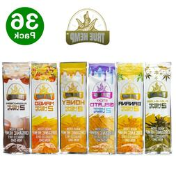 TRUE H. Organic Wrap Variety Pack 36 Pouches, 2 Per Pouch -