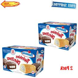 pack of 2 twinkies and ding dongs