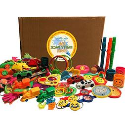 Party Packs Favors for Kids - 125 Pc Toy Assortment for Boys