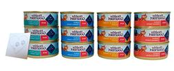 Blue Buffalo Healthy Gourmet Pate Wet Cat Food Variety Pack