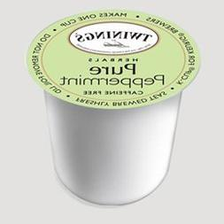 Twinings Pure Peppermint Tea 48-Count K-Cups for Keurig Brew
